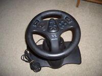 V3 Inter Act Racing Steering Wheel