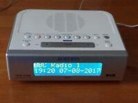 Roberts DAB/FM clock radio