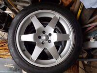 """20"""" alloy wheels"""
