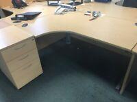Corner desk ( office furniture warehouse)