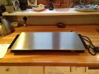 John Lewis Hostess Hot Tray, stainless steel top of range HT6030 model, barely used, great condition
