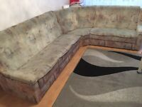 L Corner sofa,Good condation,