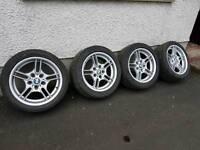 BMW e39 Msport alloy wheels