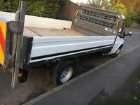 Slimjim tail lift and dropside body 500 kg