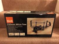 B&Q 350mm Mitre Saw - Brand new in box