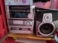 5cd changer stereo