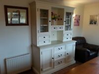 Large country kitchen dresser.