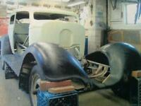 1934 Chopped Chevy Sedan Project