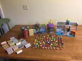 Grossery gang play sets and 115 characters