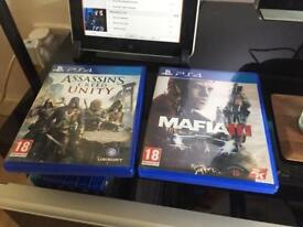 2 Ps4 games to trade. Completed reason for swap/sale