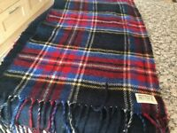 Abercrombie & Fitch Long wool tartan scarf 78 inches long x inches wide