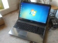 LAPTOP DELL DUAL CORE i3 CPU ,GWO.HDMI,WEBCAM,4GB RAM.500GB HD,WINDOWS 7/OFFICE 2010,CHARGER,CASE