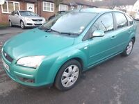 Ford Focus Style Diesel 1.6 5dr Hatchback manual Green warranted mileage visa verified.