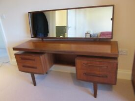 G Plan Fresco dressing table desk retro
