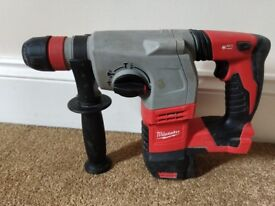 Milwaukee HD18HX Cordless SDS hammer Drill 18V (body only)