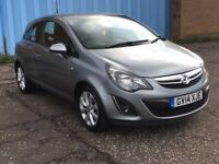 2014 Vauxhall CORSA 1.2 Excite , mot - July 2018 , only 20,000 miles,2 owners,clio,fiesta,punto,207