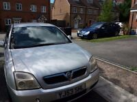 Silver vauxhall vectra 53 plate. 8 months mot. Tow bar and alloy wheels