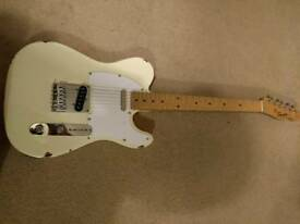 Fender squire telecaster with up grades