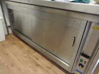 Stainless steel hot cabinet