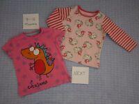 Girls 9-12 months clothes bundle inc: Next, Pumpkin Patch, F&F and Bebe Cool