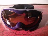 Women's ski goggles from Mountain Warehouse, almost new!