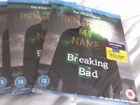 BREAKING BAD THE FINAL SEASON BLU-RAY + ULTRAVIOLET NEW NEW NEW.