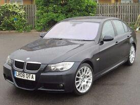 2008 (08 reg), BMW 3 Series 2.0 320d M Sport Edition 4dr, SAT NAV