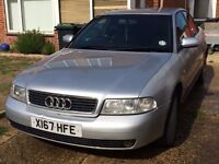 2000 Reg AUDI A4 Diesel 1.9 (the unbreakable engine) FOR SALE £595