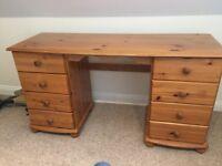 HOME by Argos pine desk
