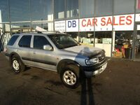 AUTOMATIC!!! VAUXHALL FRONTERA 2.2 DTI STATION WAGON 113 BHP***GUARANTEED FINANCE***PART EX WELCOME
