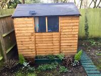 Garden shed 5x7