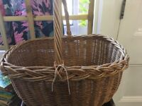 Traditional Shopping Basket - Picnic Basket