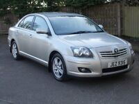 Toyota avensis t3xd4d mint condition full service history