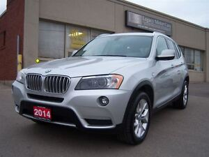 2014 BMW X3 28I Xdrive Panno Roof/Leather/360 Camera