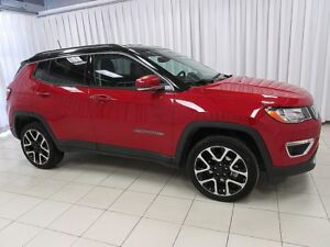 2017 Jeep Compass LIMITED 4X4 SUV. LOADED WITH FEATURES LIKE LEA