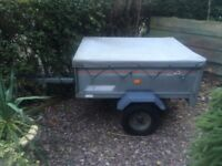 Erde 121 tipper trailer