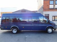 Finance me.. Super low miles on 66,000 Ford Transit 17 seat mini bus one owner from new (49)