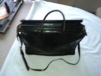 Luxury Fine Leather Shoulder Lap Top/Document Bag
