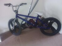 bmx bicycle with mongoose parts