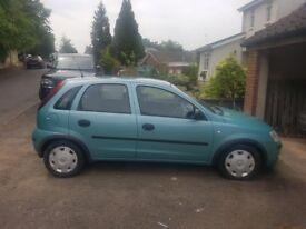 Vauxhall Corsa 1.2 twinport petrol life