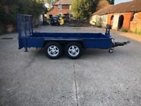 Ifor Williams 12ft plant trailer