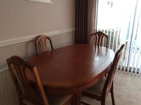 FOR SALE - Table and chairs
