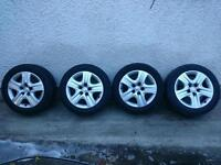 VAUXHALL INSIGNIA WHEELS, 4 EXCELLENT TYRES