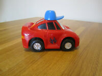 Crazy car, battery operated - Dickie Toys Mad Car in red