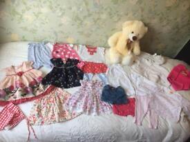 Bundle- 0-3 months girls clothes
