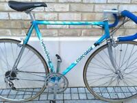 58cm Concorde Lightweight Campagnolo Record, Cinelli race bike racing bicycle Rare L'Eroica
