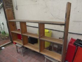 Shelf unit wall mounted and very strong