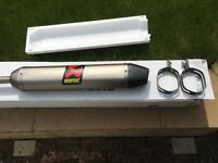 Akrapovic rear box 250/300 2 stroke