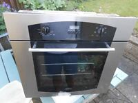 a belling single oven, clean & tidy, not very old,