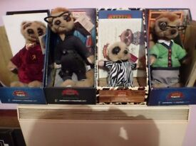 4 boxed meerkats for sale